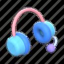 headphones, music, sound, audio