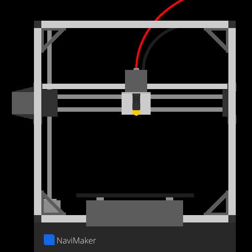 3d print, machine, navimaker, printer icon