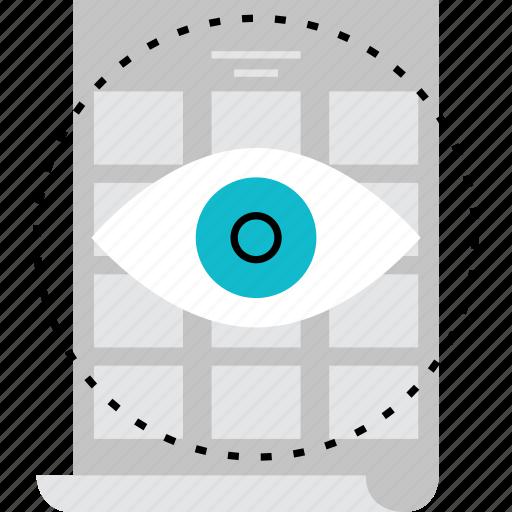 art, design, poster, sketch, vision, visual, visualization icon