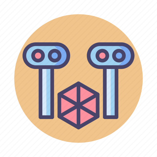 3d scanner, scanner, scanning icon