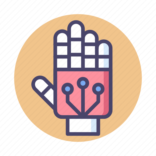 Exoskeleton, hand, robot hand icon - Download on Iconfinder