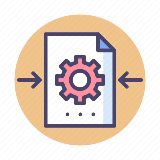 File, file processing, processing icon - Download on Iconfinder