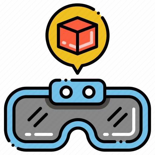 Cube Glass 3d Icon