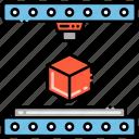 3d, box, modelling, printing icon
