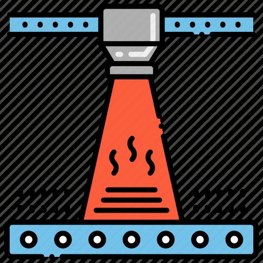 Electron Beam Melting Icon