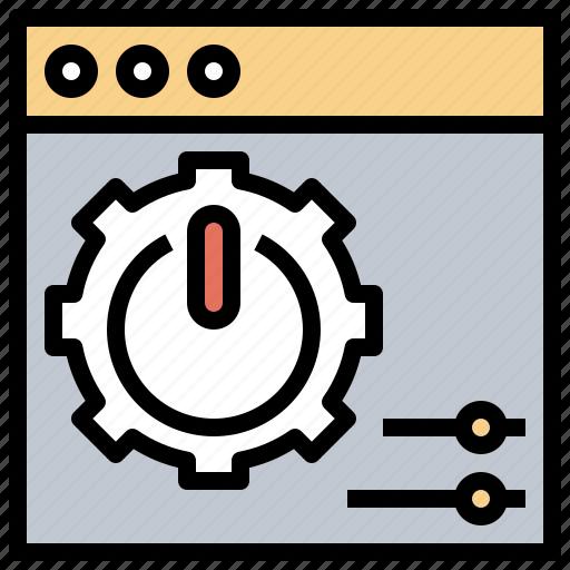cogwheel, configuration, control, gear, settings, tools, utensils icon