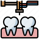 clear, dental, dentist, doctor, hospital, teeth, tooth icon