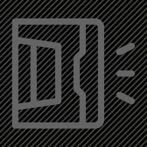 3d, handheld, magnet icon