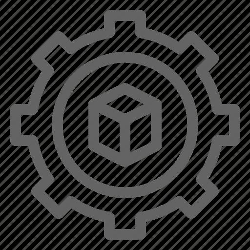 3d, printing, settings icon
