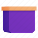 package, box, product icon