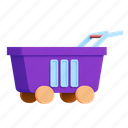 shopping, empty, shop, cart icon