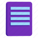 file, format, document