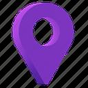 location, pin, map