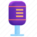 microphone, sound, mic icon