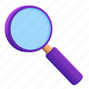 find, magnifier, search