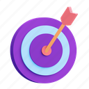 goal, target, aim