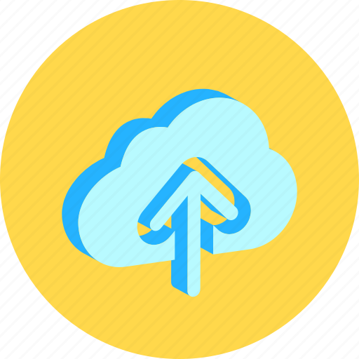 app, cloud, data, save, upload icon