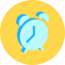 alarm, bell, clock, time, wake icon