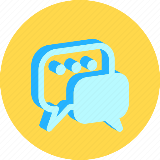 bubble, chat, communication, customer, live, speak, talk icon