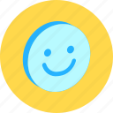 emoticon, emotion, fun, glad, people, positive, smile icon
