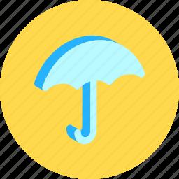 fashion, meteorology, protection, rainy, resistant, safety, umbrella icon