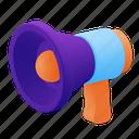 speaker, bullhorn, megaphone