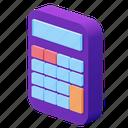 calculator, calculate, math