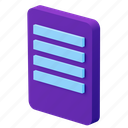 file, document, format