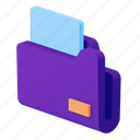 file, document, folder