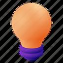 lightbulb, light, idea