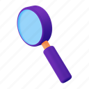 search, magnifier, find