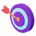 target, goal, aim