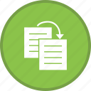 content, copy, document, duplicate, file, files, paper icon