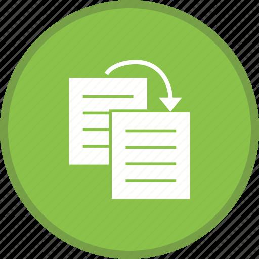 content, copy, document, duplicate, file icon