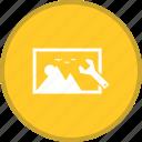 image, optimization, picture, seo icon