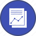 marketing, report, seo icon