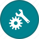 gear, options, seo, settings icon