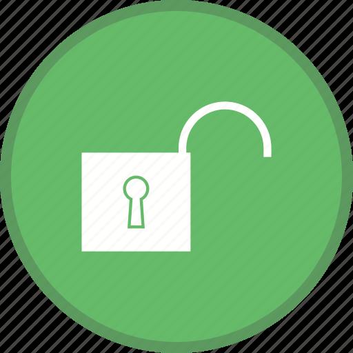 open, security, unlocked icon