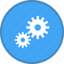 advanced, cog, gear, options, preferences, setting, settings icon