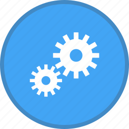 advanced, gear, options, settings icon