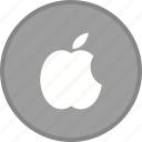 apple, logo, media, seo, social icon