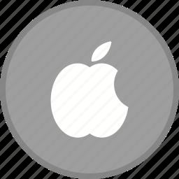 apple, logo, media, seo, social icon