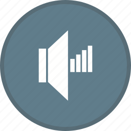 audio, high, multimedia, music, sound, volume icon