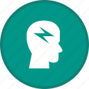 brain, brainstorming, creative, creativity, idea icon