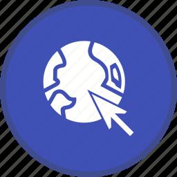 browser, internet, seo, web icon