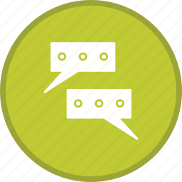 chat, communication, conversation, message, talk icon