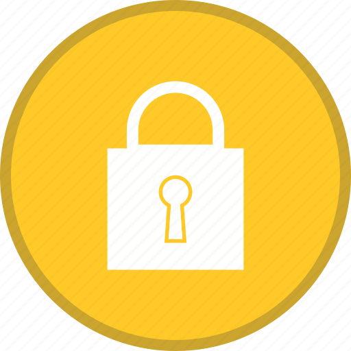 closed, lock, padlock, password, secure, security icon