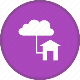 cloud, communication, connections, internet, network icon