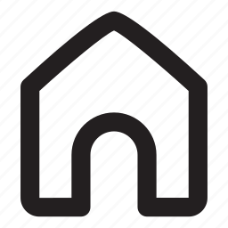home, house, menu icon