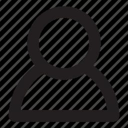 avatar, man, person, profile icon